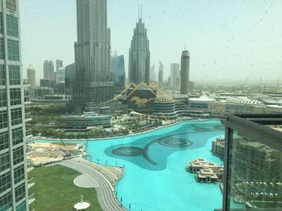 2 Bedroom Flat for Rent in Downtown Dubai, Dubai - Full Burj Khalifa view lovely 2 BR Address Fountain Views