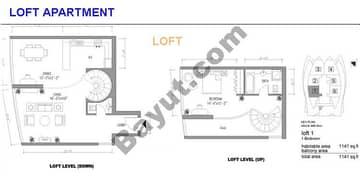 Loft Apt Upper And Lower Level