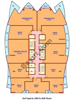 Typical Floor Plan (25-36)