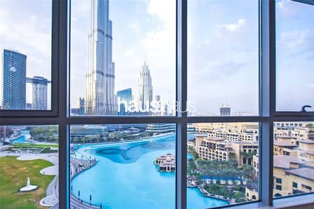3 Bedroom Flat for Rent in Downtown Dubai, Dubai - Best View Possible| Huge Layout |AC Free