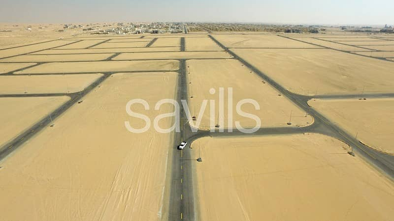 Build your dear home - Residential plots for sale in Sharjah