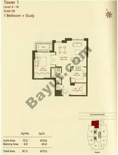 1 Bedroom (Type 7)