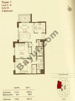 2 Bedrooms (Type 2)