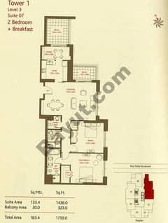 2 Bedrooms (Type 3)