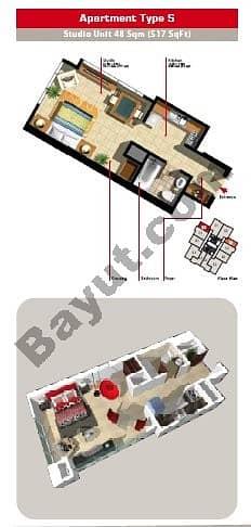 Studio Apartment Type S