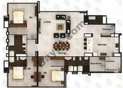 3 BR Apartment Type 2