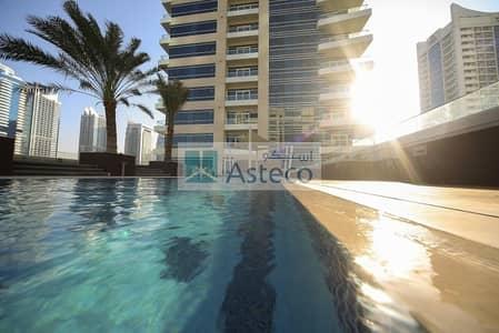 1 Bedroom Flat for Rent in Dubai Marina, Dubai - Bright! 1B/R
