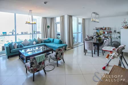 2 Bedroom Flat for Sale in Dubai Marina, Dubai - Sea and Media City Views | Two Bedrooms