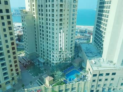 1 Bedroom Apartment for Sale in Dubai Marina, Dubai - Vacant 1Bedroom Unit w/ Partial Sea View