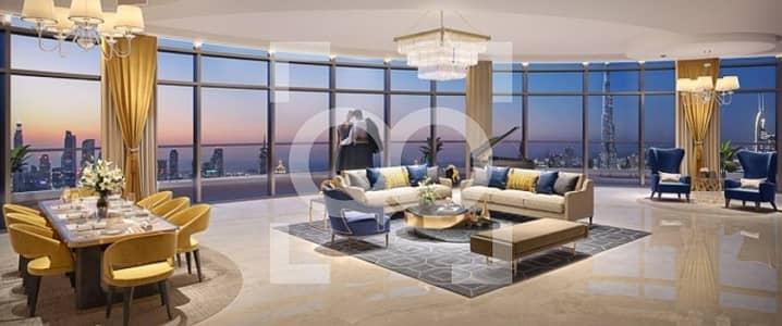 4 Bedroom Penthouse for Sale in Downtown Dubai, Dubai - Home in Sky |4 Bedroom |Special Payment Plan |