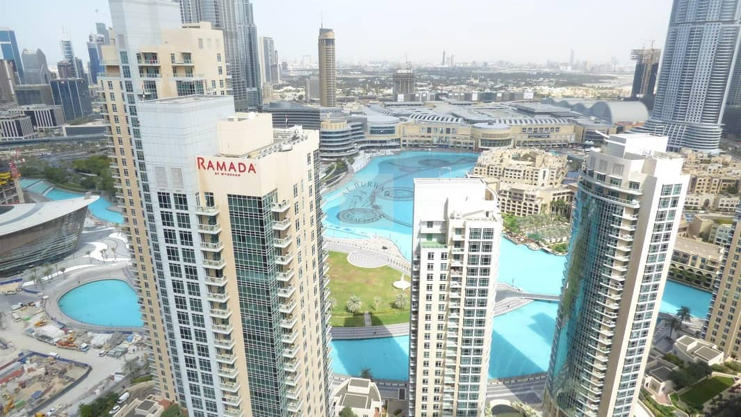 Sea View and Burj Khalifa View I 2 BR I High Floor I 29 Blvd Tower