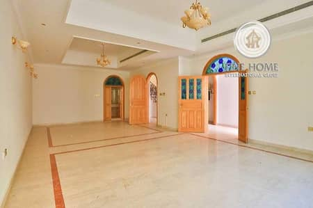5 Bedroom Villa for Rent in Al Karamah, Abu Dhabi - Amazing 5 BR + M Villa In Al Karamah   .