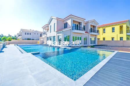 5 Bedroom Villa for Rent in Jumeirah Golf Estate, Dubai - Earth Golf Couse   Fully Upgraded   Pool