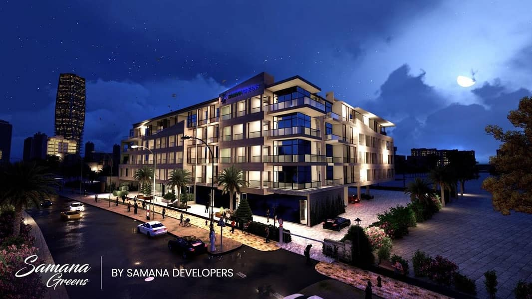 High Quality ! 3 Years Post Handover Payment Plan!
