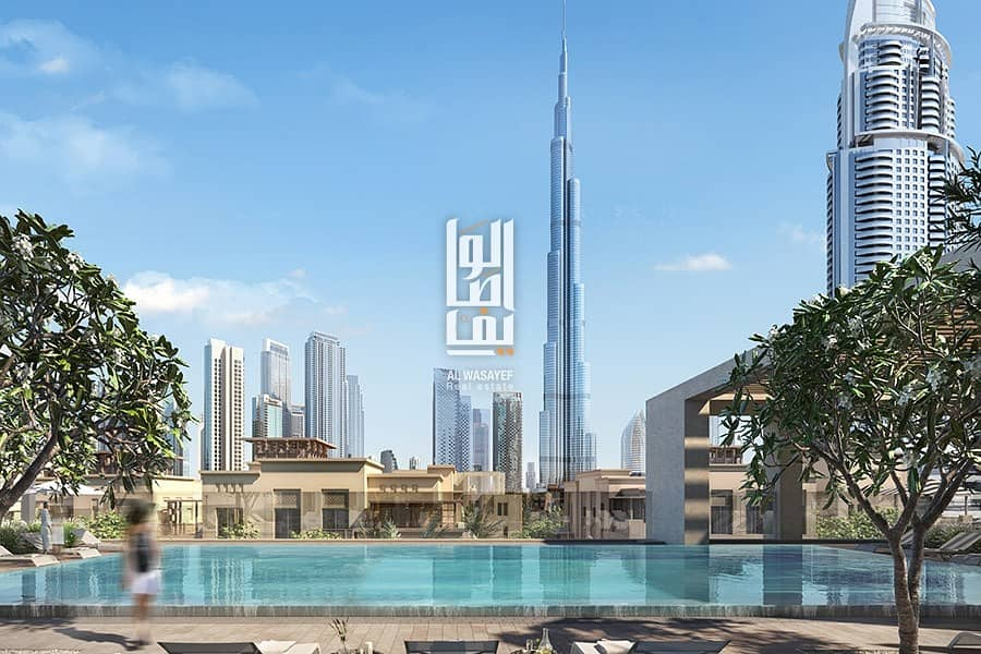 2 Book for only 5% ! Burj Khalifa view  | 2%Free DLD