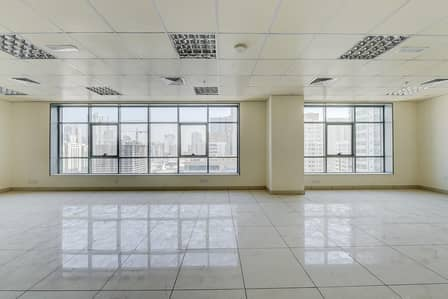 Office for Rent in Al Qasimia, Sharjah - 800 Sq.Ft Office with Central A/C | Sharjah