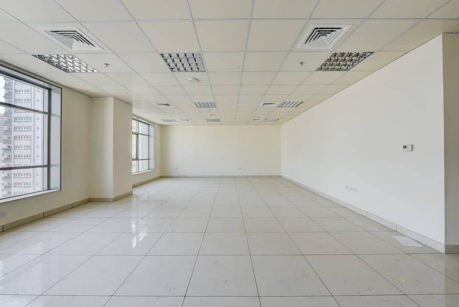 800 Sq.Ft Office with Central A/C | Sharjah