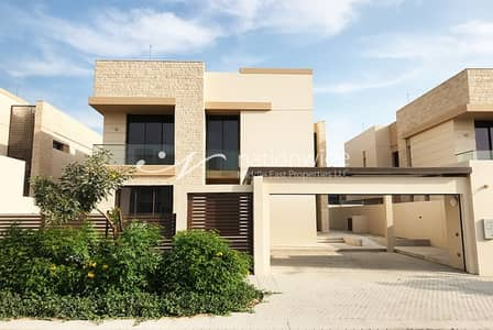 5 Bedroom Villa for Sale in Saadiyat Island, Abu Dhabi - Exquisite 5 BR Villa with Maids and Pool