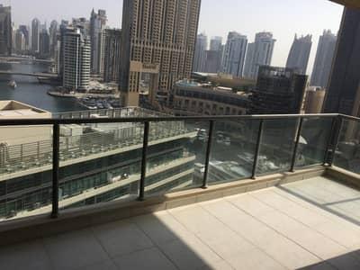 2 Bedroom Apartment for Rent in Dubai Marina, Dubai - Largest Size I  2 Bed I Full Marina view