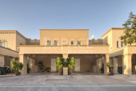 2 Bedroom Villa for Rent in The Springs, Dubai - Well Maintained - Type 4M - Backing Park