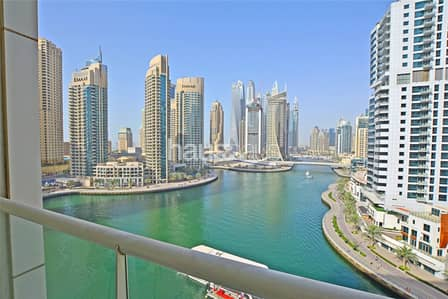 1 Bedroom Flat for Rent in Dubai Marina, Dubai - Marina View Central Location | Furnished