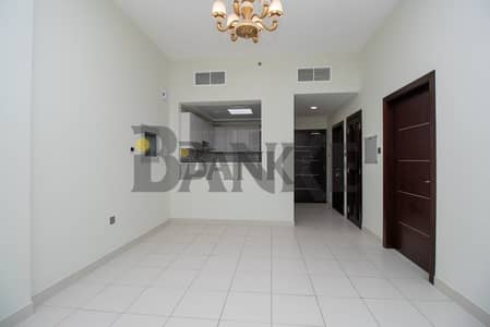 1 Bedroom Apartment for Rent in Dubai Studio City, Dubai - 1 BR GLITZ 3 | Basketball & Tennis Court view| 13 months