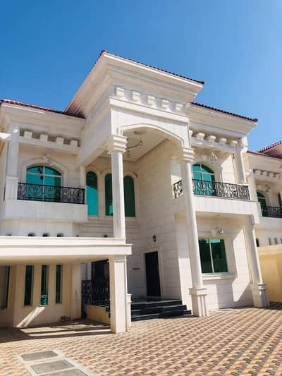 5 Bedroom Villa for Sale in Al Mowaihat, Ajman - Villa for sale close to Sheikh Mohammed Bin Zayed Street finishing Super Deluxe