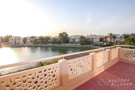 4 Bedroom Villa for Rent in The Meadows, Dubai - Upgraded | Private Pool | Full Lake View