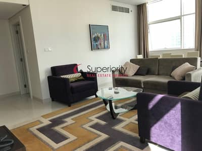 3 Bedroom Flat for Rent in Business Bay, Dubai - Fantastic Furnished Hotel Apartment|3BR+Maids Room| Business Bay