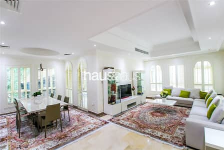 5 Bedroom Villa for Sale in Jumeirah Islands, Dubai - Fully Upgraded     Master View    Unique