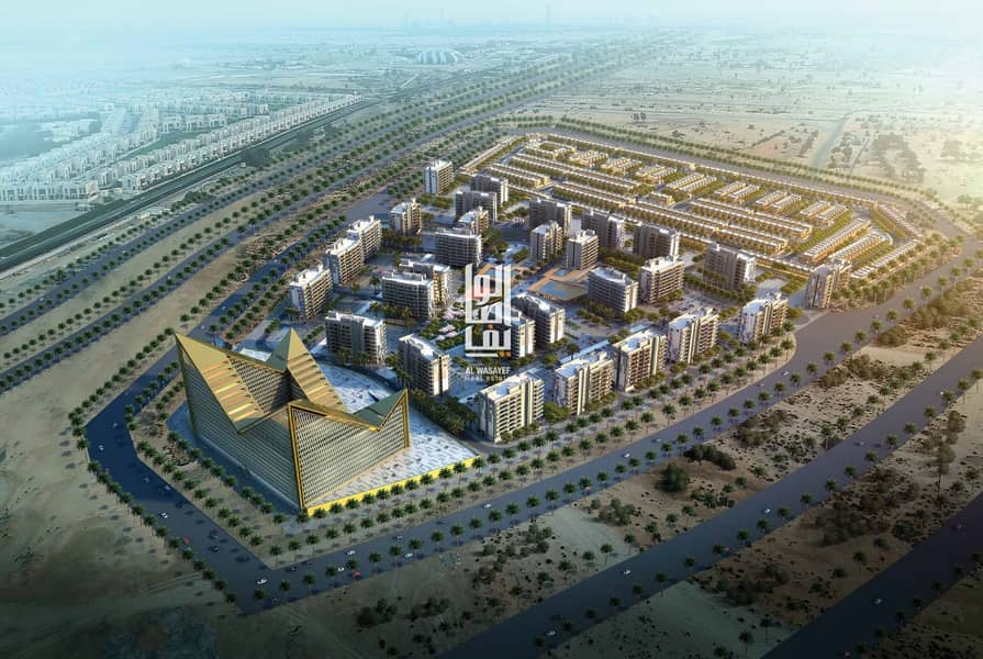 2 Own the cheapest villa in meydan in the heart of  Mohammed bin Rashid city With only 1.5m..