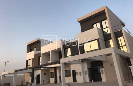 5 Bedroom Villa for Rent in Al Salam Street, Abu Dhabi - Luxurious 5BR+M Townhouse in Bloom Gardens