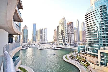 1 Bedroom Apartment for Rent in Dubai Marina, Dubai - Vacant Now | Un-furnished | Marina views