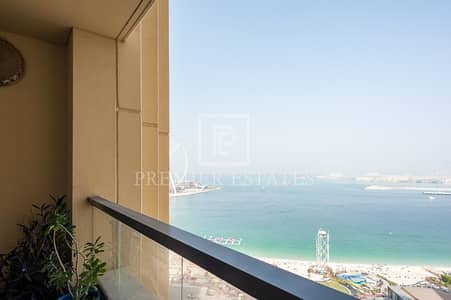2 Bedroom Flat for Rent in Jumeirah Beach Residence (JBR), Dubai - 2BR Apt - Available from 31st March 2019