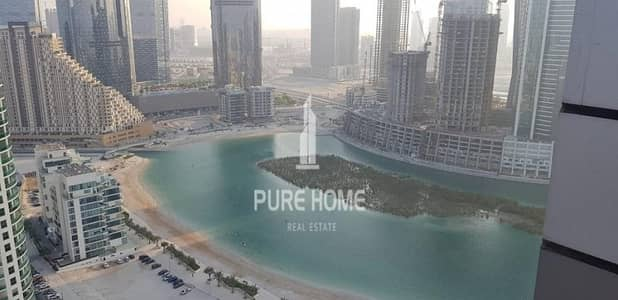 2 Bedroom Flat for Rent in Al Reem Island, Abu Dhabi - Hot Deal ! For A large  2+m  With Full  Sea View