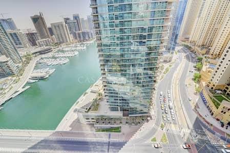 1 Bedroom Apartment for Sale in Dubai Marina, Dubai - Large 1BR Full Marina View  with High ROI