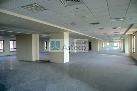 Office for Rent in Discovery Gardens, Dubai - Fitted open plan office in OIBG with inclusive DEWA & A/C Charges