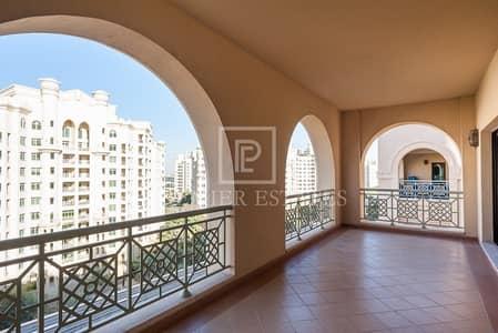 3 Bedroom Apartment for Rent in Palm Jumeirah, Dubai - 3 Bed plus Maids plus Laundry - Park view