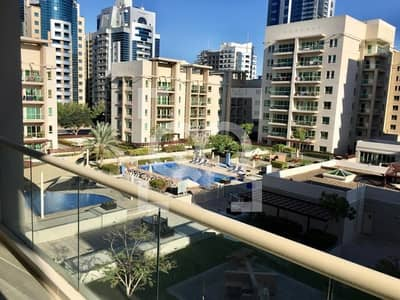 2 Bedroom Flat for Rent in The Greens, Dubai - SAMAR 1 |POOL VIEW| CHILLER FREE| BOOK NOW!