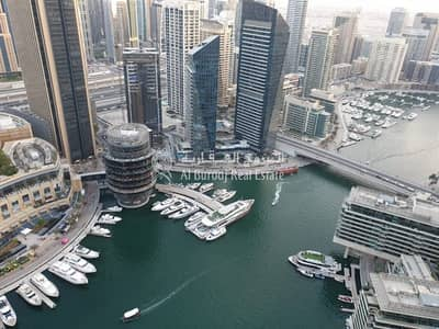 2 Bedroom Apartment for Rent in Dubai Marina, Dubai - 2 Bedrooms with Full Sea View in Bay Central
