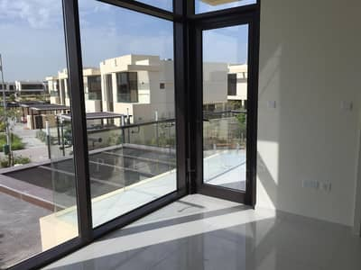 3 Bedroom Townhouse for Rent in DAMAC Hills (Akoya by DAMAC), Dubai - Brand new end unit | full lake golf view