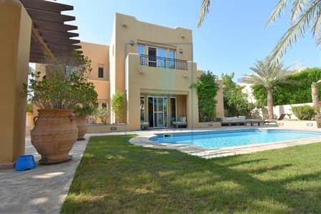 5 Bedroom Villa for Sale in Arabian Ranches, Dubai - Huge Type 17 Villa | Garden & Private Pool