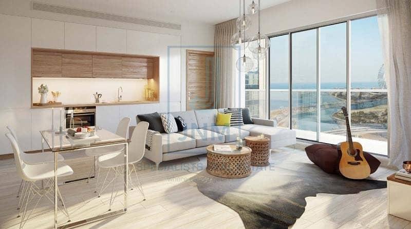 Full Marina & Dubai Eye View Studio Apartment