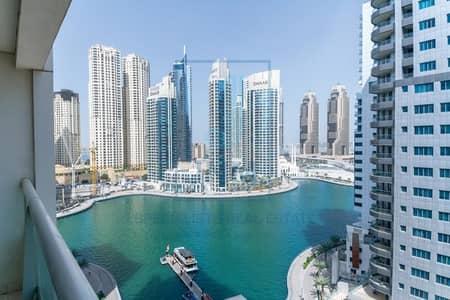 2 Bedroom Apartment for Rent in Dubai Marina, Dubai - Furnished | Full Lake View | 2BR Apartment