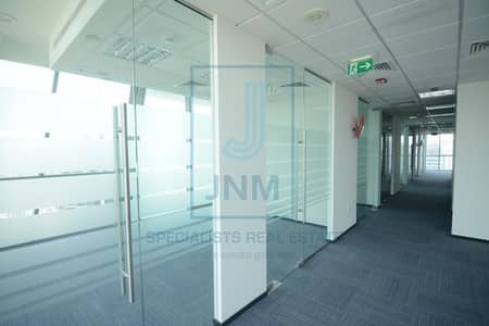 Office for Rent in Jumeirah Lake Towers (JLT), Dubai - High Floor Fitted - Arial View - Tiffany