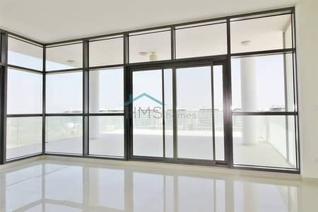 3 Bedroom Flat for Rent in DAMAC Hills (Akoya by DAMAC), Dubai - High Floor - Golf Course View - 4Cheques