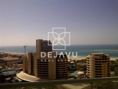 1 Bedroom Apartment for Rent in Dubai Marina, Dubai - Full Sea View | 1 Bedroom | Botanica Tower