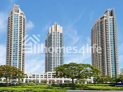 1 Bedroom Flat for Rent in Downtown Dubai, Dubai - Well Maintained 1 BR | Burj Views Podium