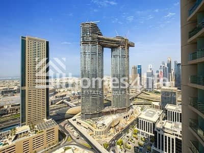 2 Bedroom Apartment for Rent in Downtown Dubai, Dubai - Two BR apartment with sea view available