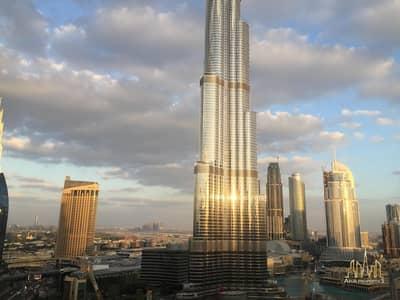 2 Bedroom Apartment for Rent in Downtown Dubai, Dubai - AMAZING 2 BR WITH FULL BURJ KHALIFA VIEW